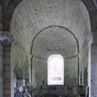 La chapelle centrale de la crypte (2007)