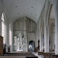 La nef nord vue vers l'est (2007)