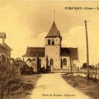 L'église en 1938