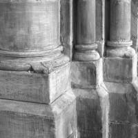 Bases dans l'ancien transept (1999)