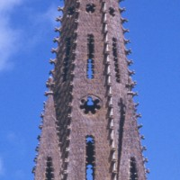 Le clocher et la flèche vus de l'ouest (1997)