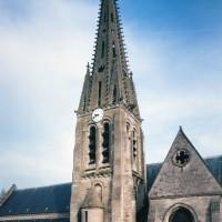 Vue partielle de l'église depuis le sud (1997)