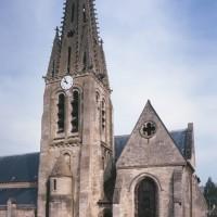 Le clocher et le choeur vus depuis le sud (1997)