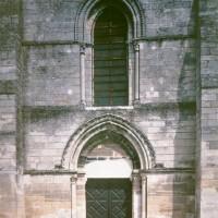 La partie centrale de la façade ouest (1997)