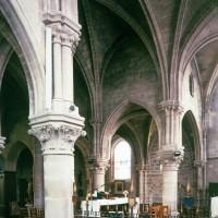 Vue partielle du choeur vers le nord-ouest (1997)