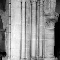 Le pilier nord-ouest de l'ancienne croisée du transept (1999)