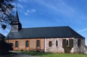 L'église vue du sud (2003)