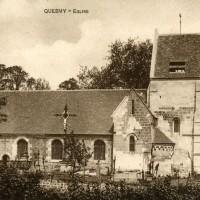 L'église dans les années 1920