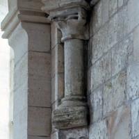 Retombée de la voûte de la travée droite du choeur à l'angle sud-est (2006)