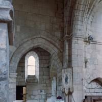 Vue partielle du choeur et du croisillon nord vers le nord-est (2006)
