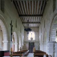 La nef vue vers l'ouest (2006)