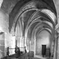 Le bas-côté nord de la nef vu vers l'ouest (1996)