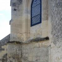 Vue partielle de l'abside depuis le nord (2016)