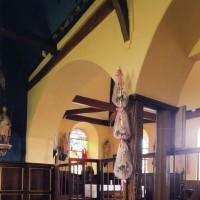 Arcades d'entrée de la chapelle nord vues vers le sud-est (2005)