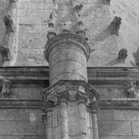 Détails du clocher et de la flèche (1977)