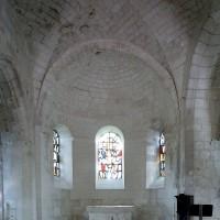 L'abside vue vers l'est (2008)