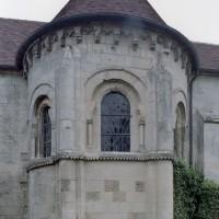 L'abside vue de l'est (2007)