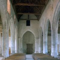L'intérieur vu vers l'ouest (2008)
