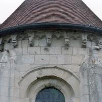 Vue des parties hautes de l'abside (2007)