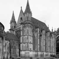 La chapelle de la Vierge vue du sud-ouest