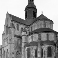 Le choeur et le transept vus du sud-est