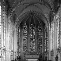 L'intérieur de la chapelle de la Vierge vu vers l'est