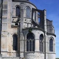 L'abside et ses chapelles rayonnantes vues du sud (2017)
