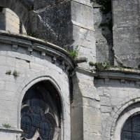 Détails de la retombée des arcs-boutants au sud des chapelles rayonnantes (2017)