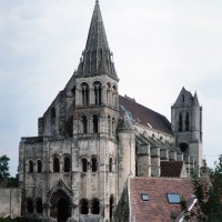 L'église vue du sud-ouest (1996)