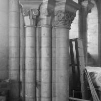Retombée de voûtes à la tribune de l'avant-nef (1996)