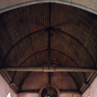 La charpente de la nef vue vers l'ouest (2005)