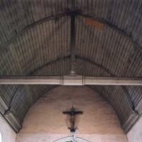 La charpente de la nef vue vers l'est (2005)