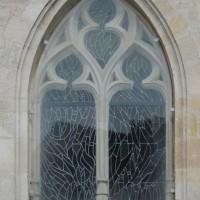 La fenêtre est de la chapelle nord (2017)
