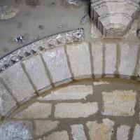 Détails de l'archivolte du portail ouest (2017)