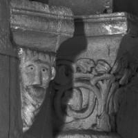 Retombée de voûte à la troisième travée de la nef (1995)
