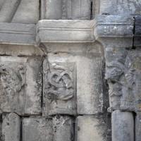 Les chapiteaux de droite du portail sud (2017)