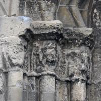 Les chapiteaux de gauche du portail ouest (2017)