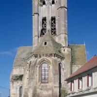 Le chevet de l'église vu de l'est (1997)