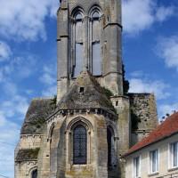L'église vue de l'est (2017)
