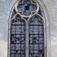 La fenêtre ouest du bas-côté nord (2017)