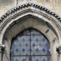 Détails d'une fenêtre de l'abside (2017)