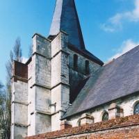 Vue partielle de l'église depuis le sud-est (2003)