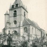 L'église en 1910