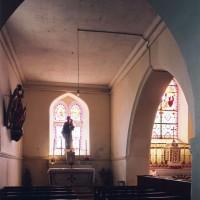 La chapelle nord vue vers l'est (2005)