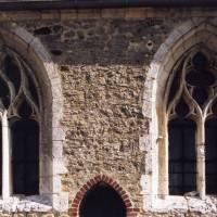Fenêtres de la chapelle sud vues du sud (2005)
