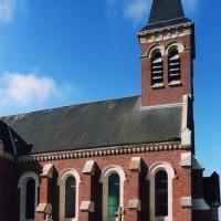 Vue partielle de l'église depuis le nord (2006)