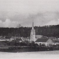 Le village et l'église avant la Grande Guerre