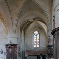 Le bras nord du transept vu vers le nord (2002)