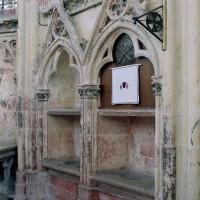 Piscine liturgique de la chapelle de la Vierge (2003)
