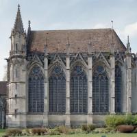La chapelle de la Vierge vue du sud (2003)